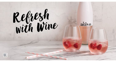 Refresh With Wine - Rose Spritzer