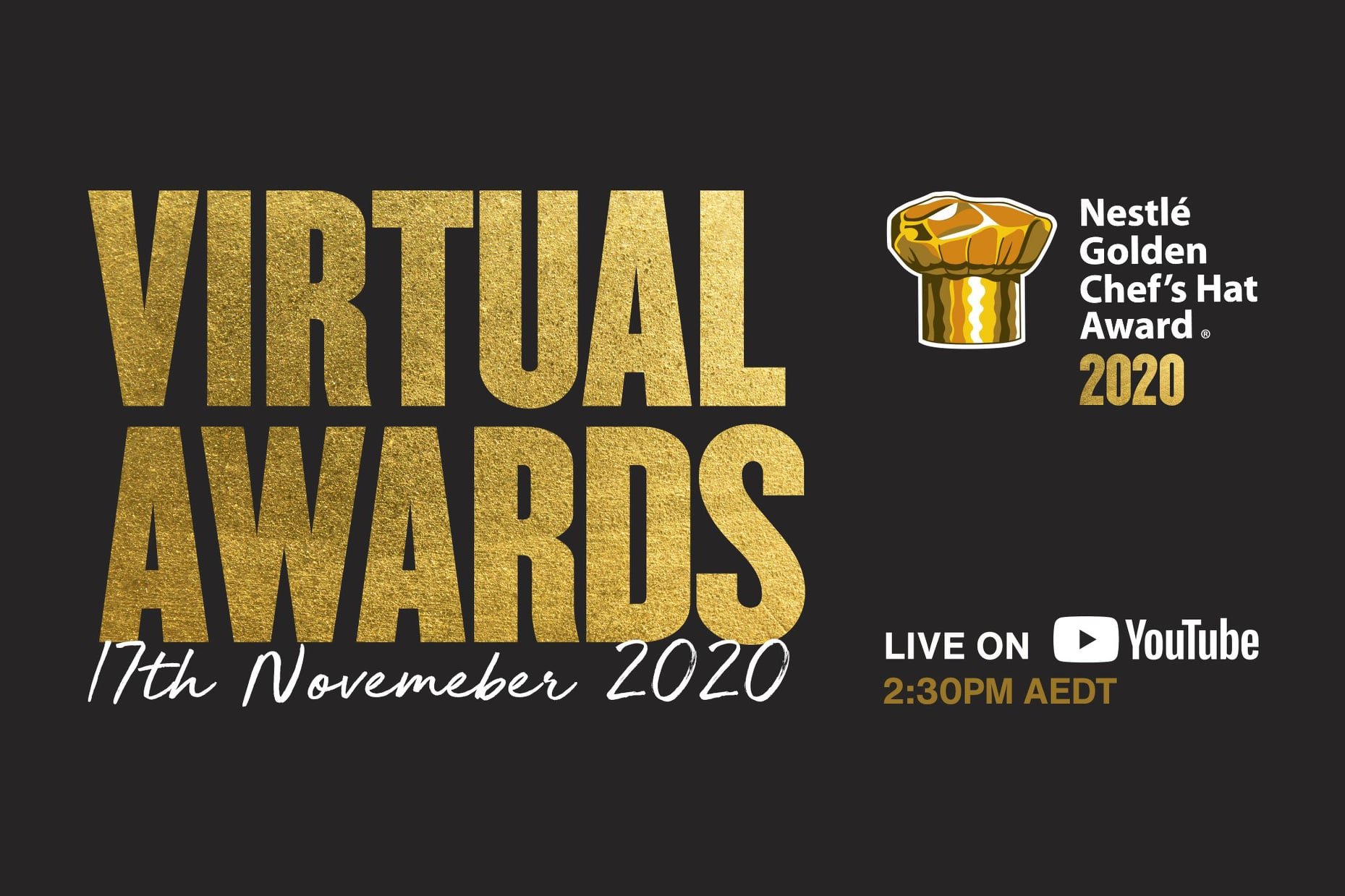 Join Us For The Virtual Nestlé Golden Chef's Hat 2020 Awards!