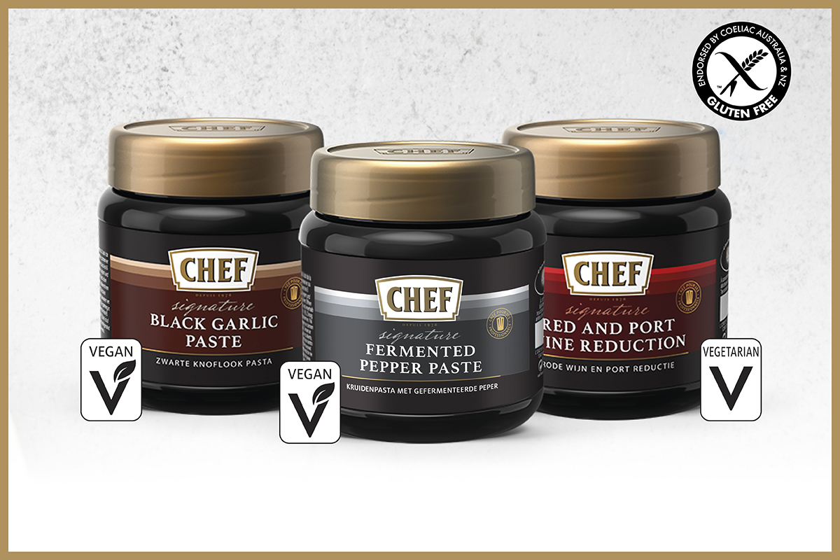 Feed Your Culinary Creativity Today with NEW CHEF® Signature Pastes!