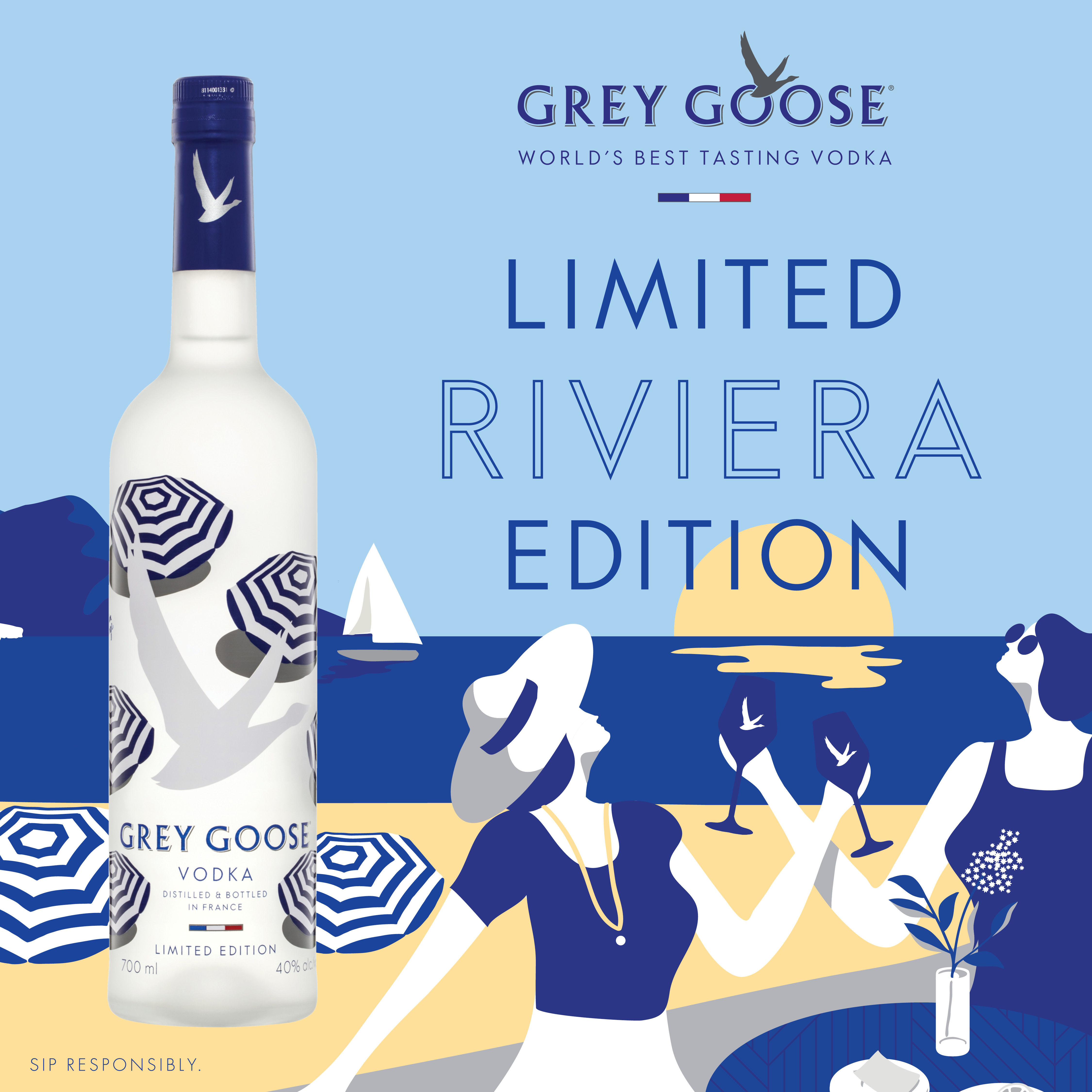 Grey Goose Limited Edition celebrates the French Riviera