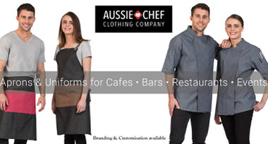 Aussie Chef Clothing Company DISCOUNT IS BACK!