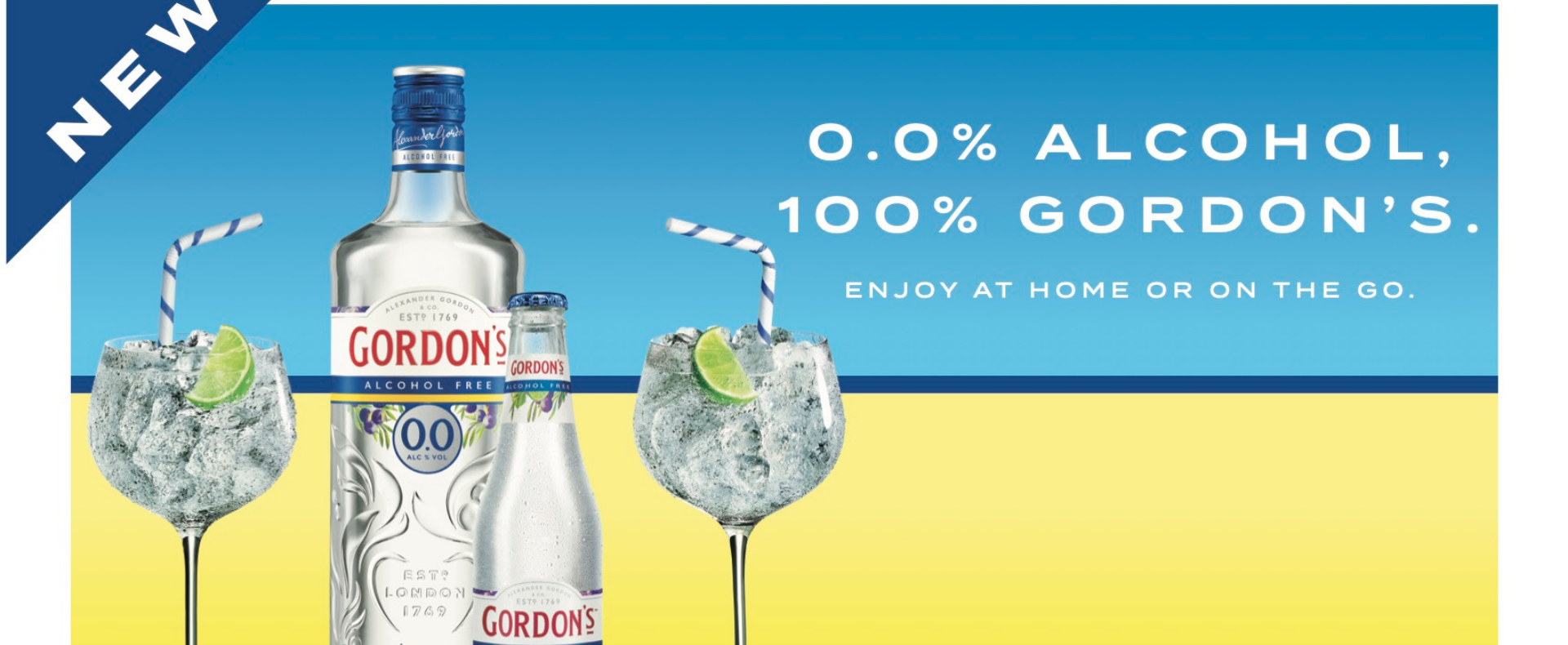 This July we're introducing a new member to Gordon's