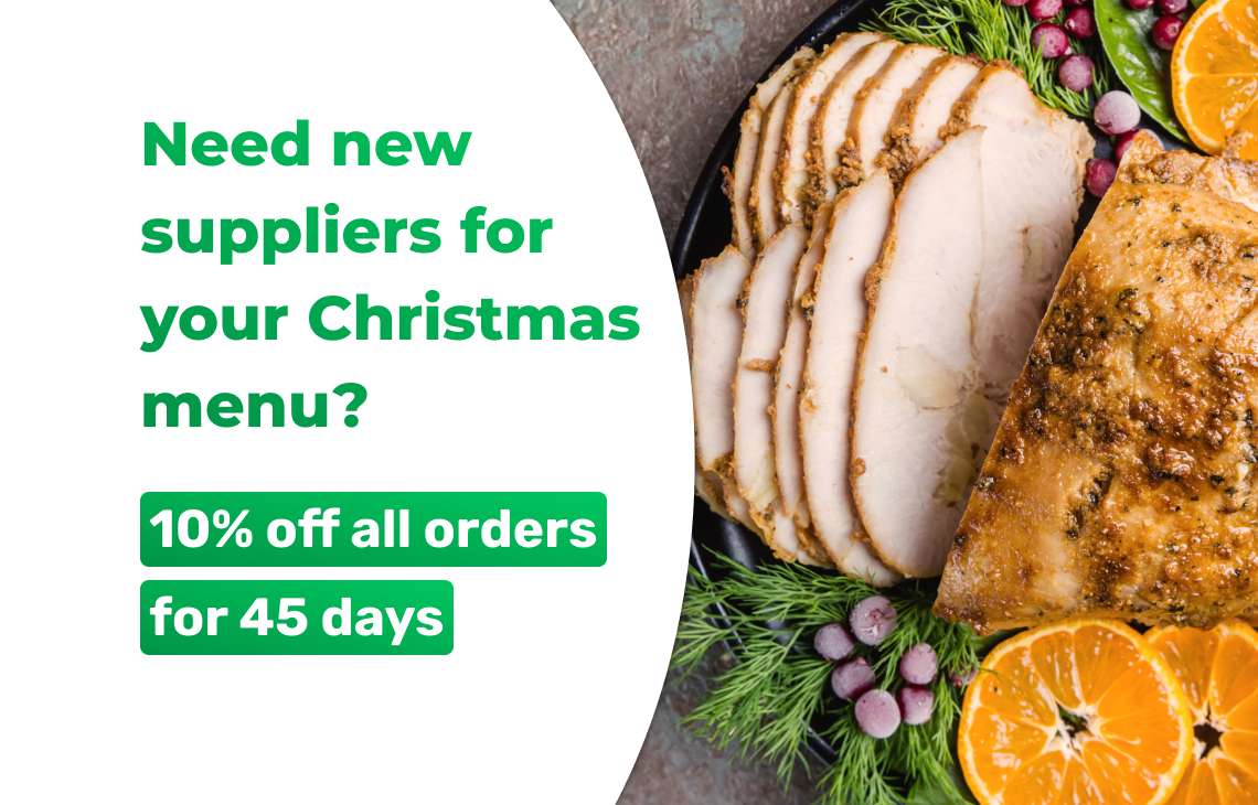 Need new suppliers for your Christmas menu?