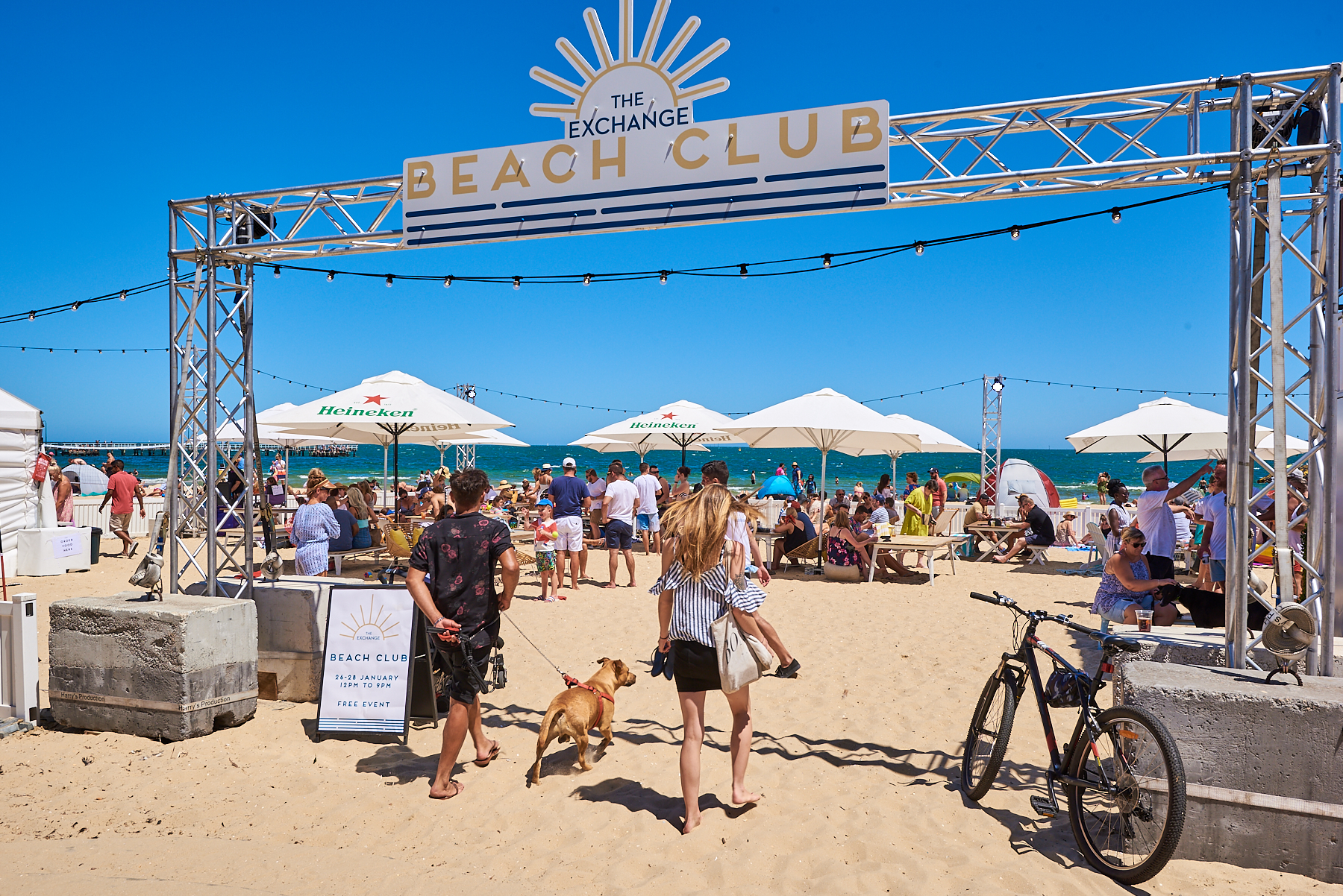 The Exchange Pop-Up Beach Club is Returning for Summer!