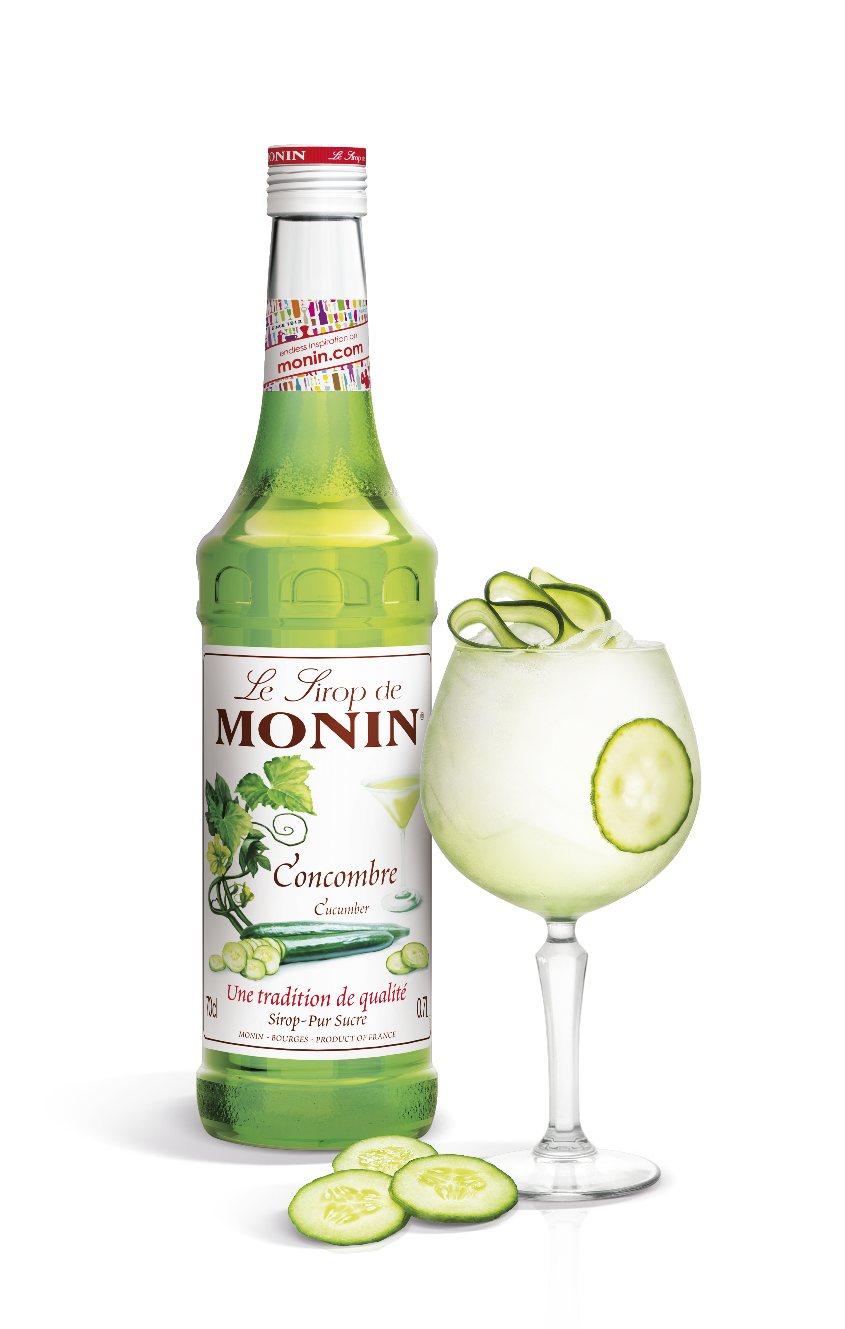 MONIN has heard you and are happy to present Cucumber Syrup