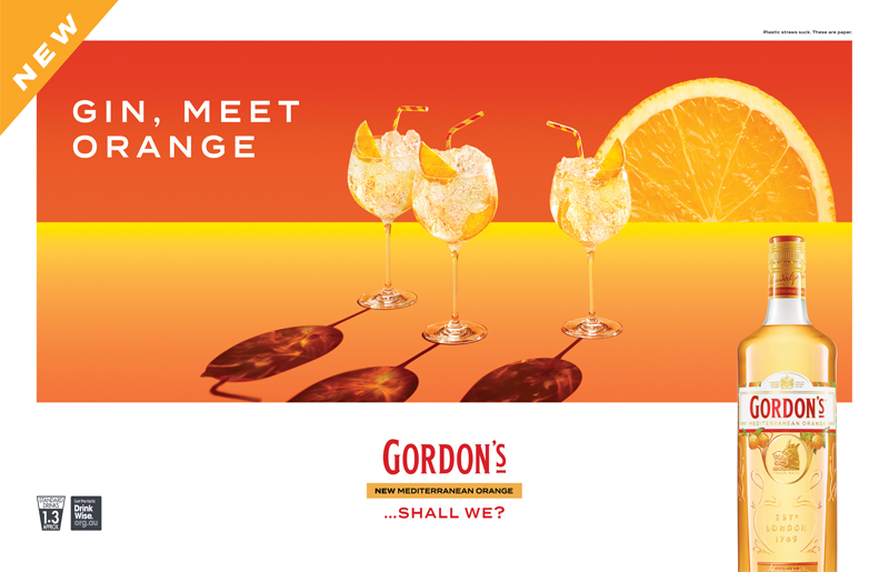 Welcoming a new addition to the Gordon's Family - Mediterranean Orange.