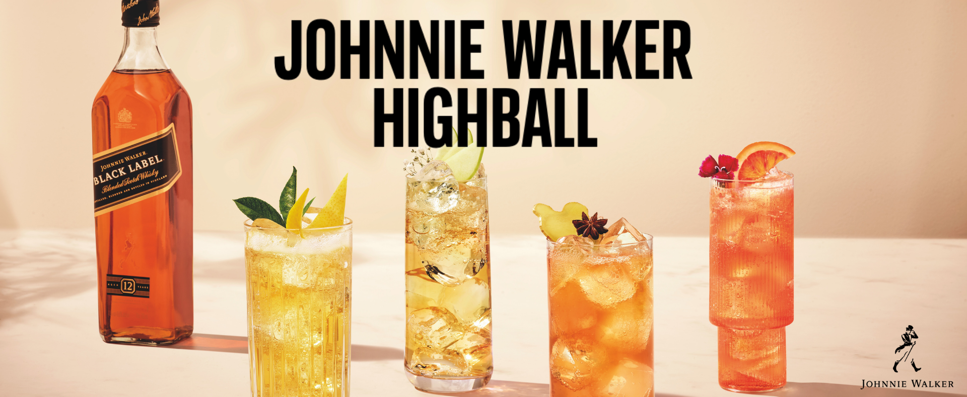 Learn how to make your own Johnnie Walker Blood Orange Highball
