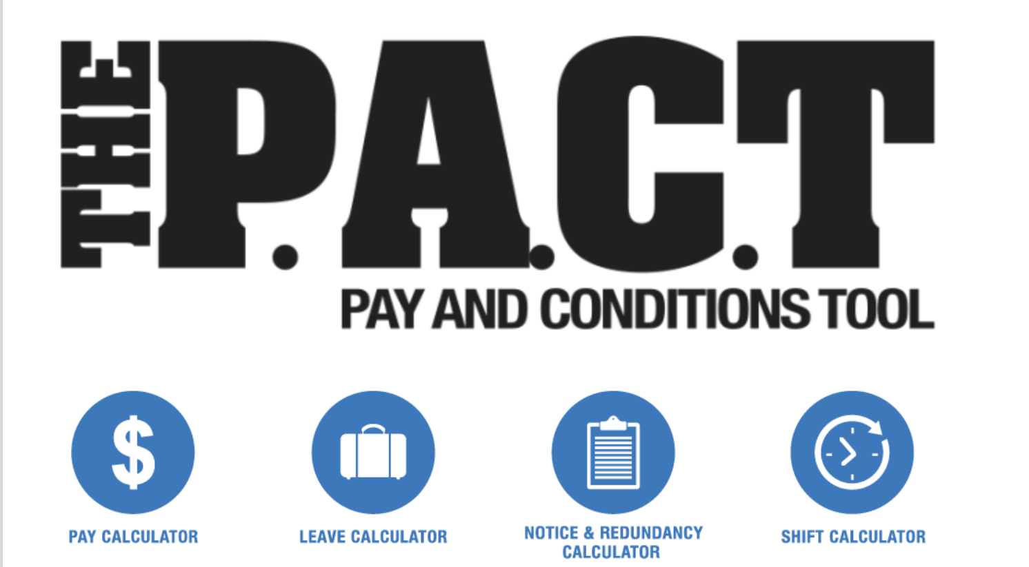 Make Sure You're Getting Paid Correctly With The PACT!