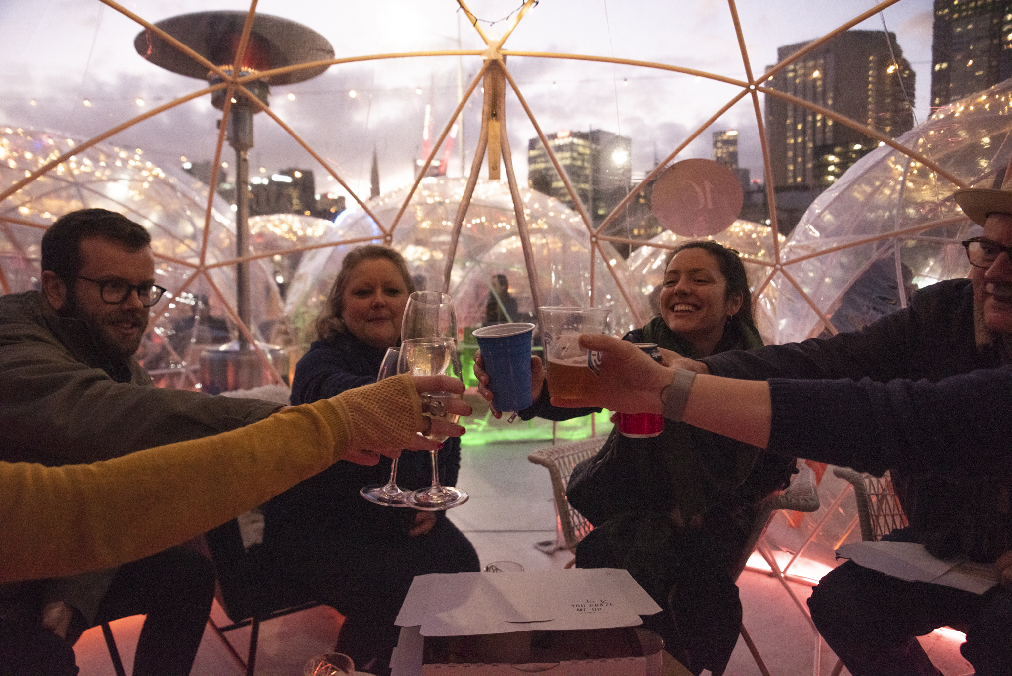 The Winter Village returns to Fed Square!