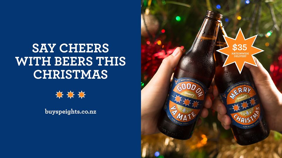 Say Cheers With Beers From Speights!