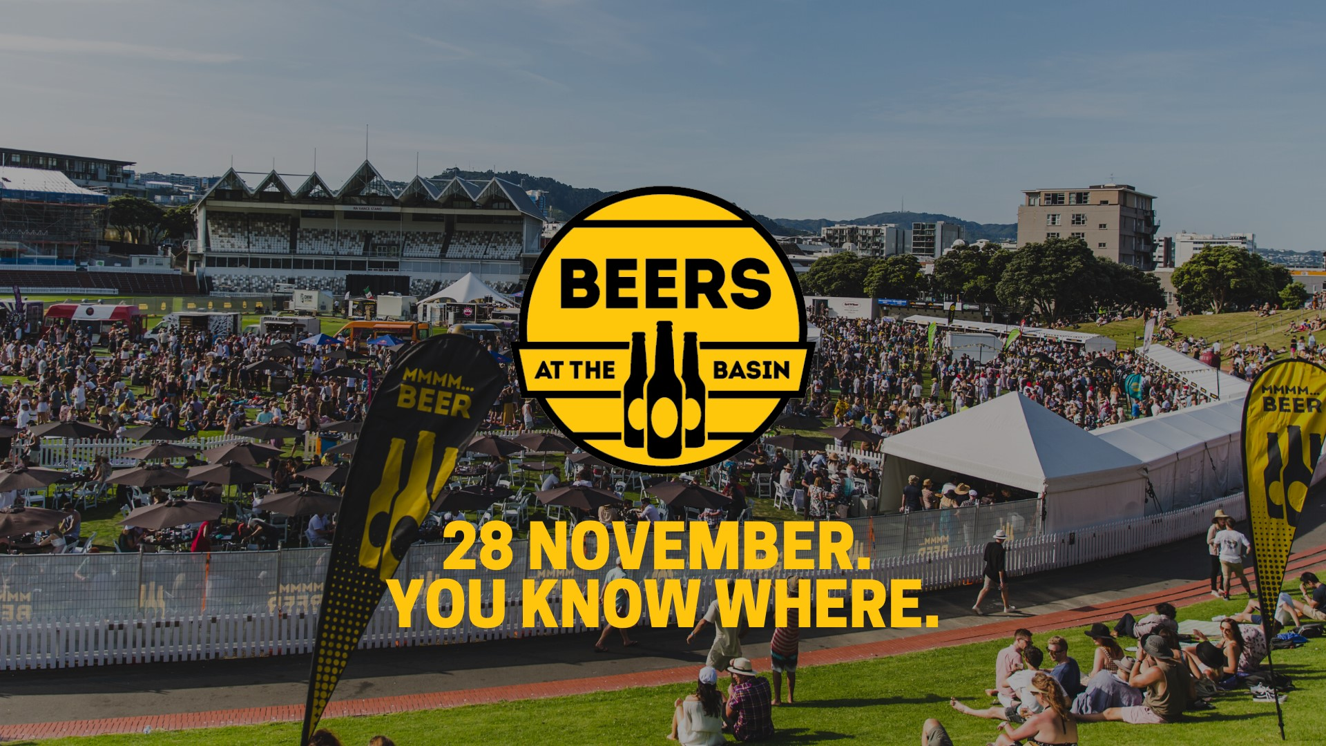 Beers at The Basin | Wellington
