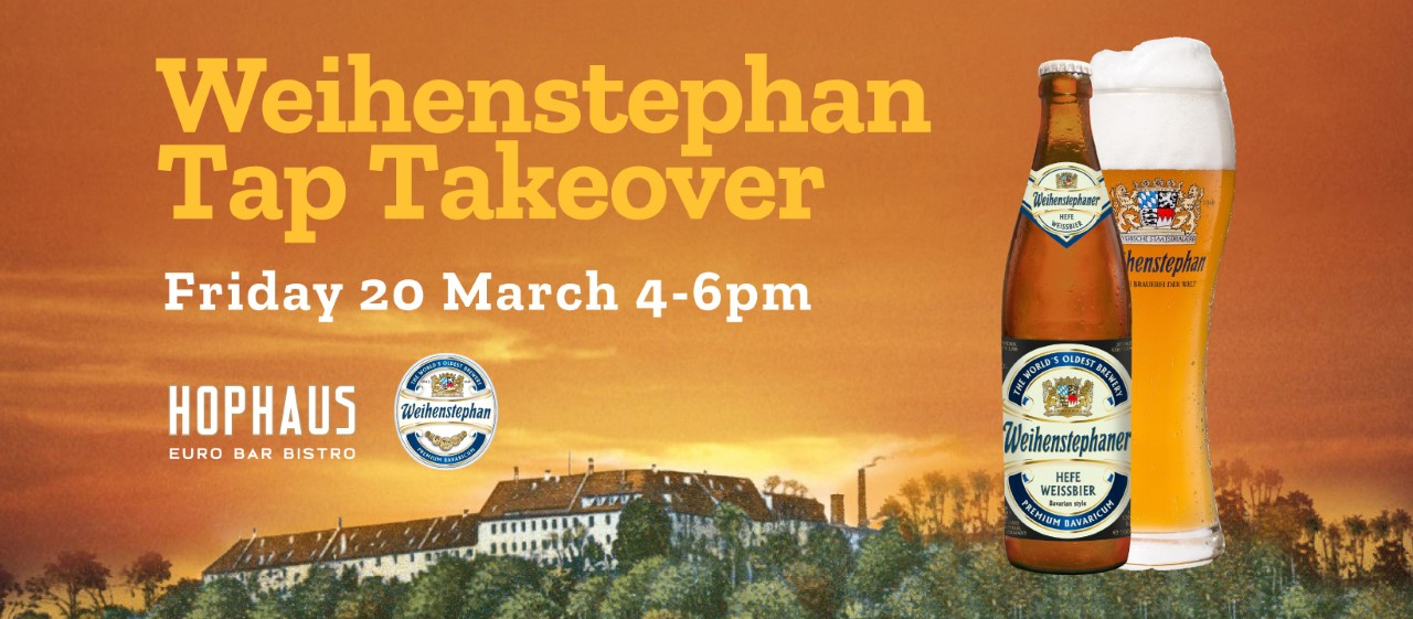 Weihenstephan Tap Takeover at Hophaus Euro Bar Bistro