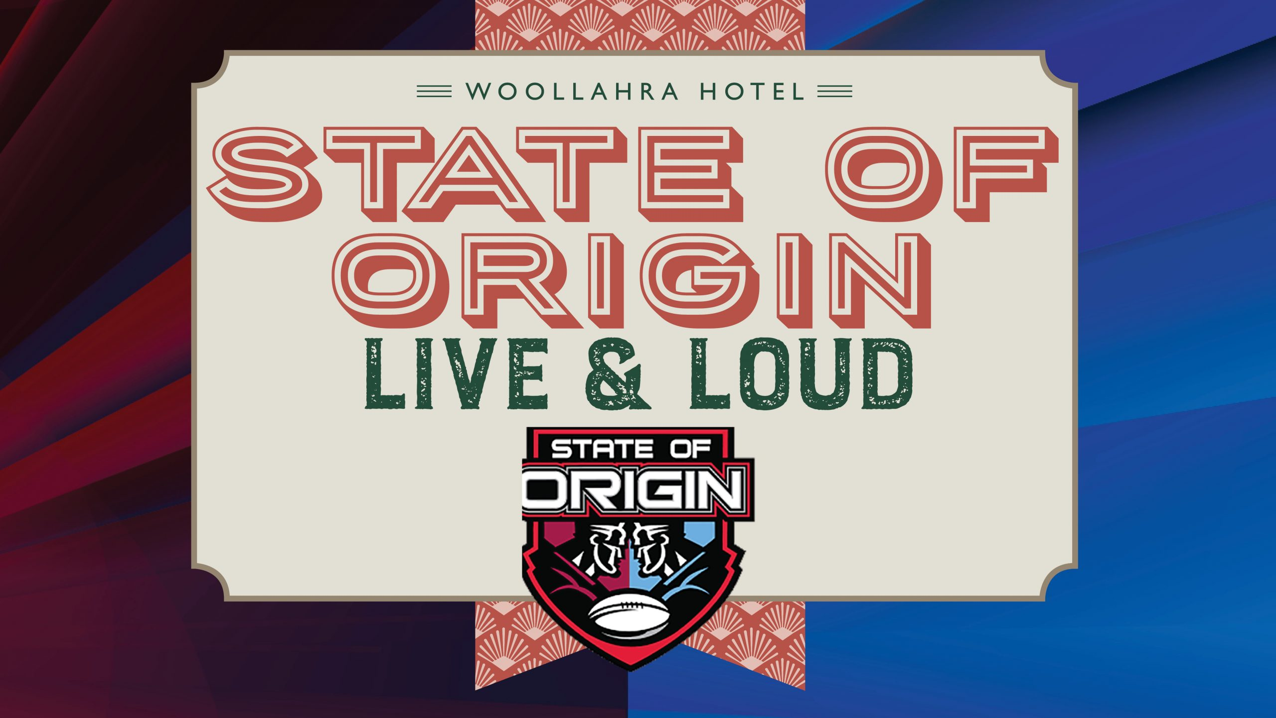 Watch the State of Origin matches