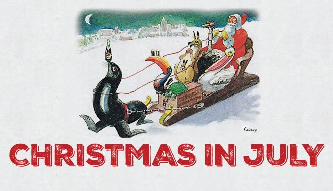 Join P.J.OBrien's Sydney this year to celebrate a very special Christmas in July!